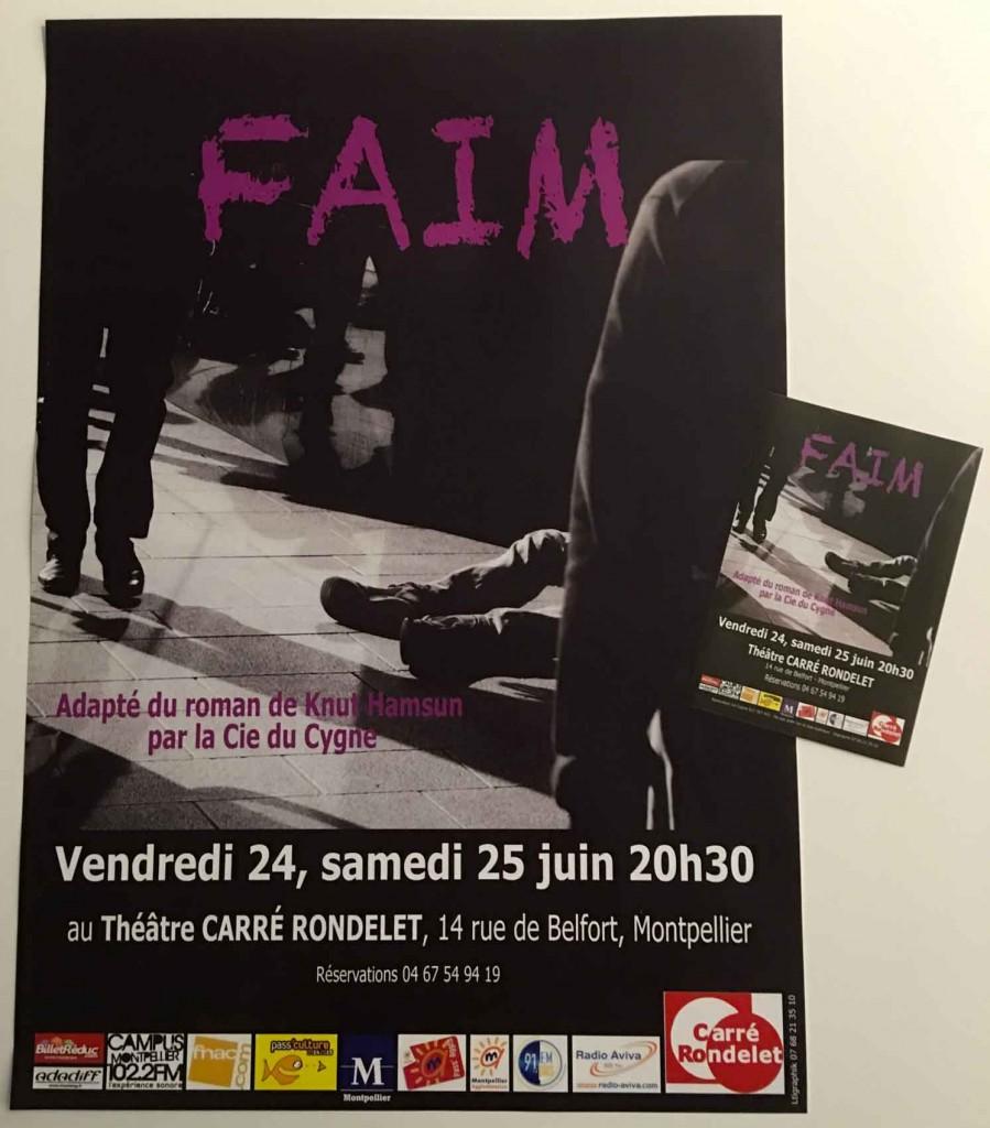 Affiches et flyers pour un spectacle