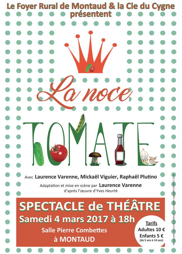 Affiches et flyers pour un spectacle de théâtre