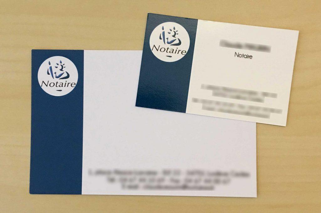Cartes de visite et cartes de correspondance