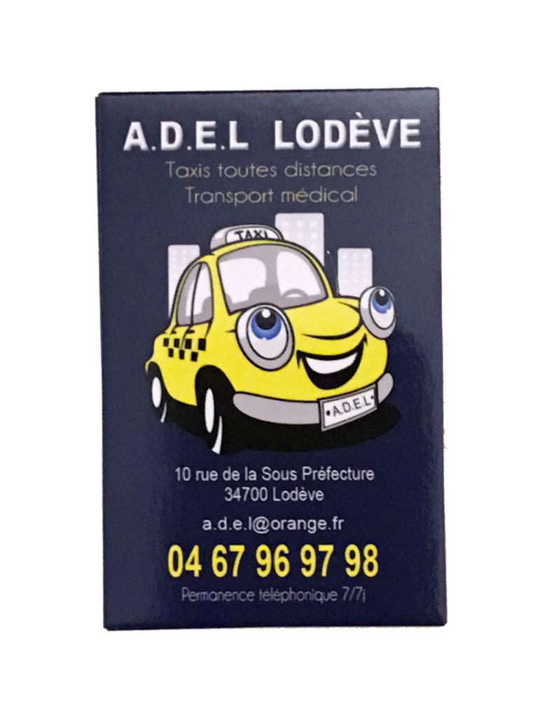 Carte de visite A.D.E.L.